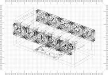 Mining Rig Architect blueprint