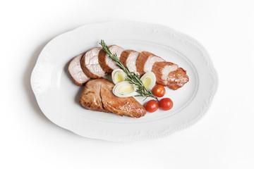 dish of pork