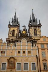 Église de Notre-Dame-de-Týn Place de la Vieille-Ville de Prague