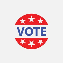 Vote symbol icon American right to vote