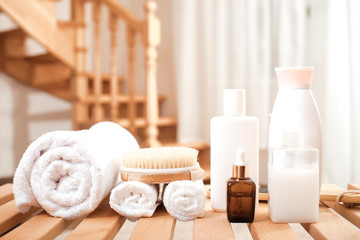 Care products for the body. Spa treatments