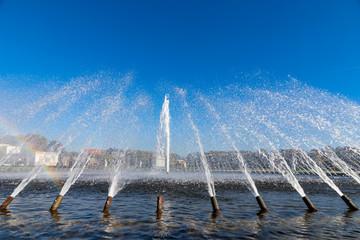 Wasserspiele im Herrenhäuser Garten, hannover