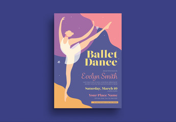 Ballet Dance Flyer Layout