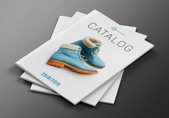 Fashion Product Catalog Layout