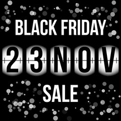 black friday sale banner 23 november 2018 background wallpaper