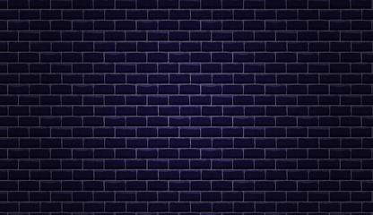 Vector brick wall. Seamless  pattern and background for your design. Grand texture.