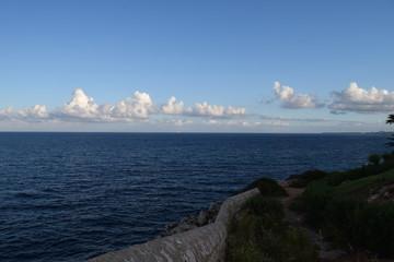 Himmel Wolken und Meer
