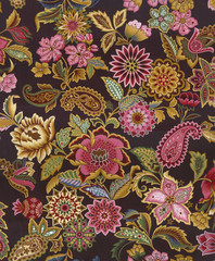 Ethnic flower design