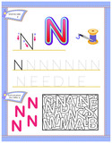 tracing abc letters for study english alphabet worksheet for kids education page for. Black Bedroom Furniture Sets. Home Design Ideas
