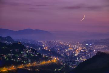 Sarayevo Arabian Night At Twilight, Bosnia And Herzegovina