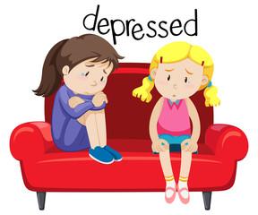 Two girls is depressing