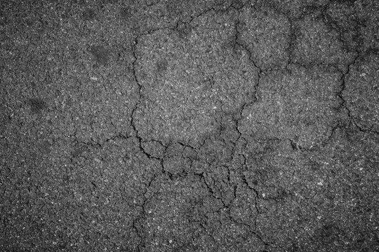 Crack asphalt texture background