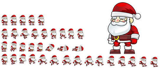 Santa Claus Game Character