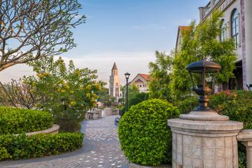 European small Town landscape