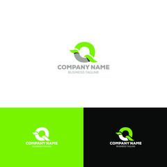 Letter Q Organic Logo Template
