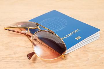 sunglasses on biometric passports