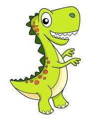 Cute cartoon dinosaur. Dino