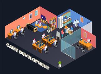 Game Development Isometric Composition