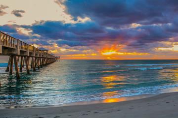 Sunrise at the Juno Beach, Florida Fishing Pier