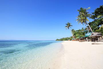 Beautiful Lambug beach, Cebu, Philippines