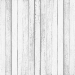 White wood wall plank texture for background