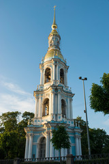 church in St. Petersburg canal