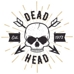 Dead Head - Tee Design For Printing
