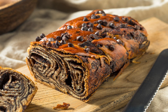 Sweet Homemade Chocolate Babka Bread