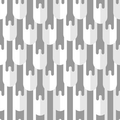 Vector seamless pattern with abstract pattern.