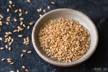 Gold Flaxseeds