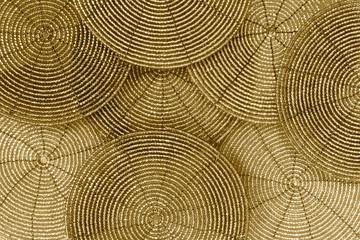 Golden Beaded Background