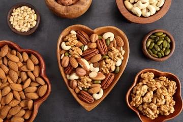 Nuts mix.