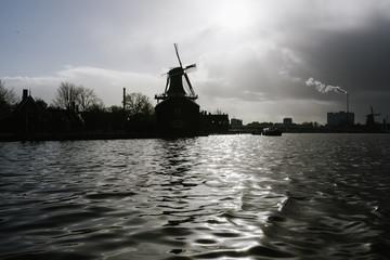 Windmills, dutch stuff in Zaanse Schans