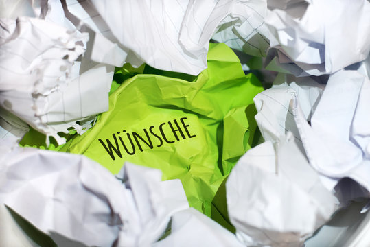 Papiermüll - Wünsche