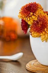 Flor en taza