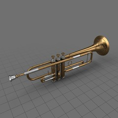 Antique trumpet