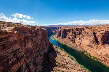 Fototapete - The Glen Canyon Dam Scenic Area