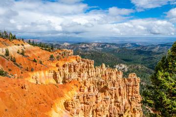 Fototapete - Ponderosa Canyon Overlook