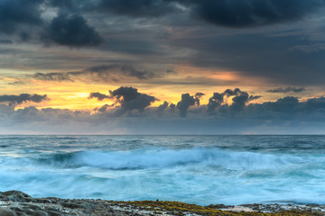 A Showy Sunrise Seascape