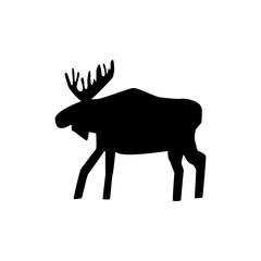 siluette elk