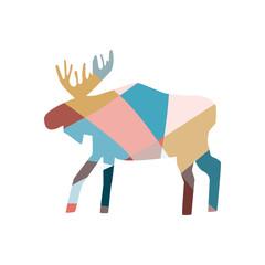 mosaic elk