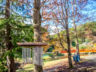 【静岡県伊豆市】公園のウィンドチャイム【修善寺虹の郷】