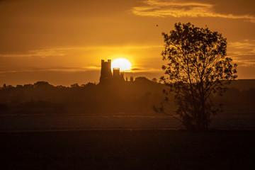 Dawn over Ely, 22nd September 2018