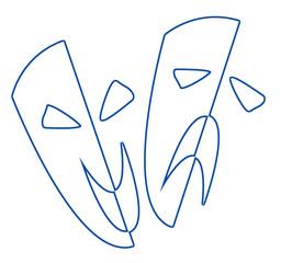 Stage Masks Outline