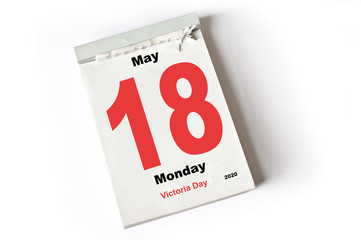 18. May 2020 Victoria Day