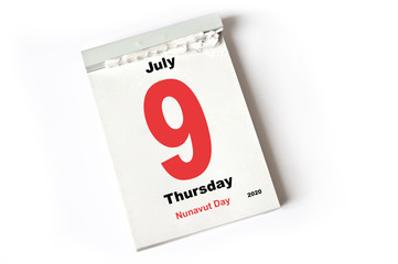 9. July 2020 Nunavut Day