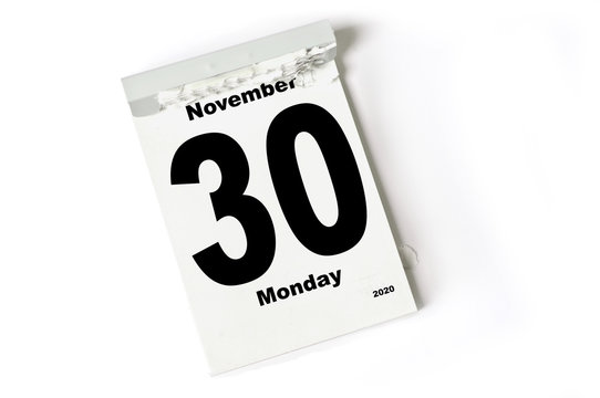 30. November 2020