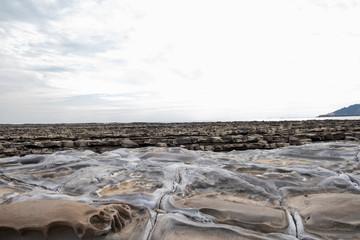 日南海岸波状岩3
