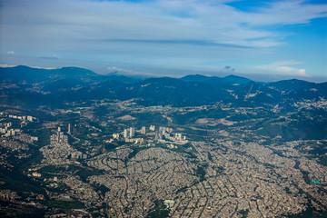 panoramica aerea di città del Messico