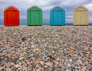 Pebble Beach Huts